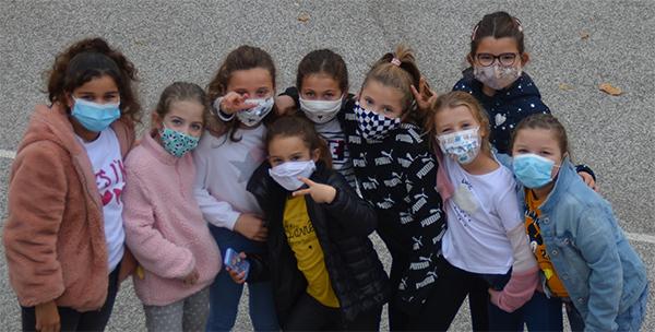 Enfants masqués Ecole Primaire news